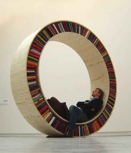 Колесо для книг