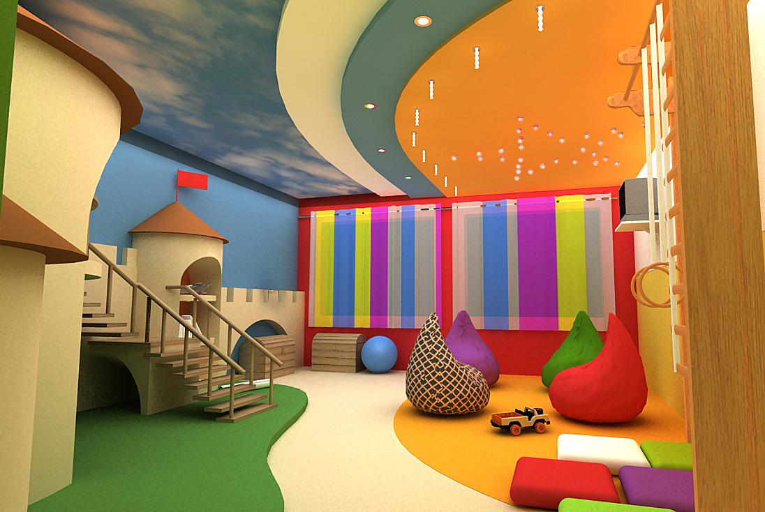 Игровая комната для ребенка