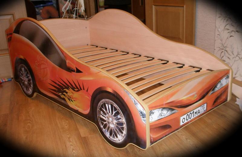 Кровать в виде машины сделать своими руками фото 442