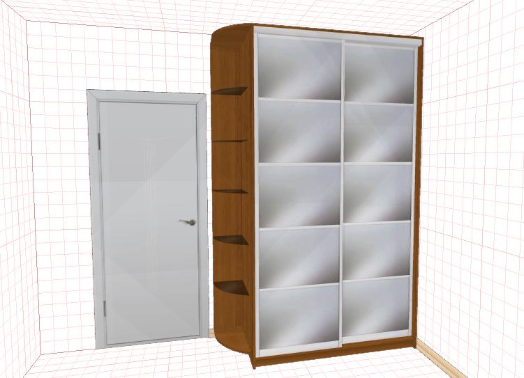 Программа мебели создание шкаф