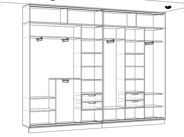 Шкаф своими руками схемы чертежи и фото