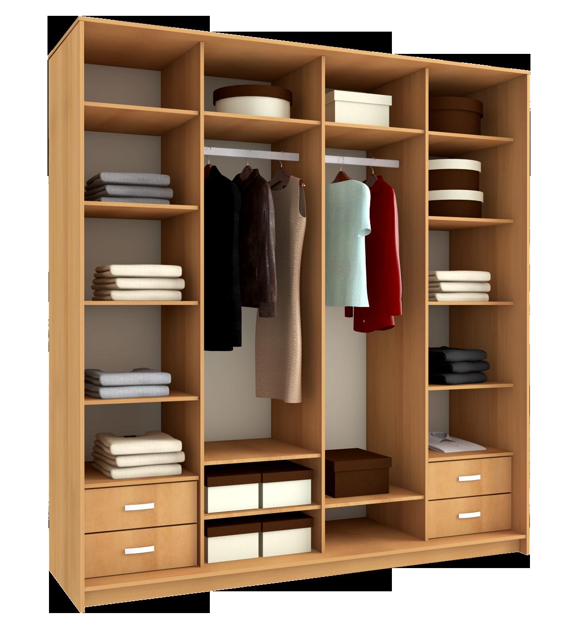 проект шкафов в прихожую схема