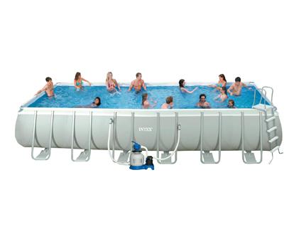 Бассейн с комплектом для активного отдыха