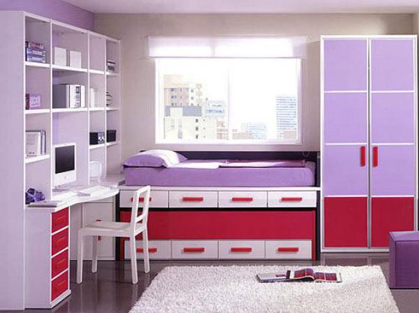Детская комната трехцветная