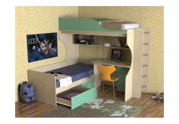 Детская кровать «Дуэт-5» из ЛДСП