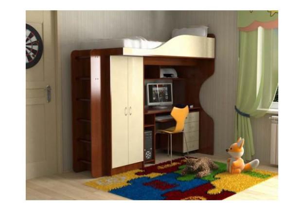 Детская кровать «Квартет» с тумбой