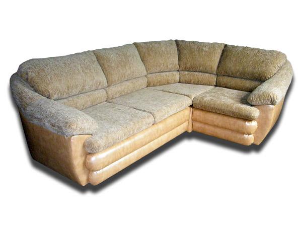 Диван-кровать угловой «Пух»