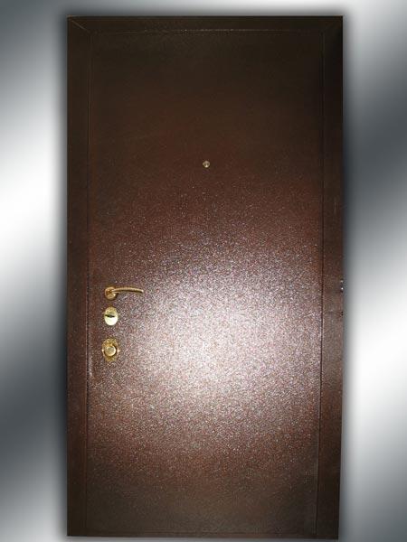 Дверь «Диром» металлическая «Антик медь»