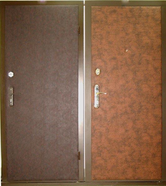 Дверь «Диром» металлическая из винилискожи