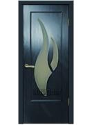 Дверь МДФ черная