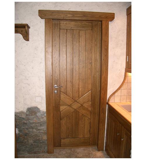 Дверь межкомнатная в стиле кантри