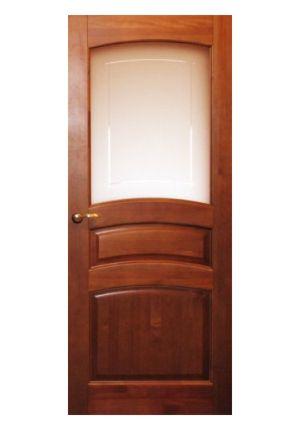 Дверь остекленная из массива сосны «М 16»