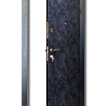 Дверь входная с мягкой наружной обивкой