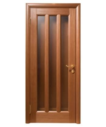 Двери из массива шпонированные «Гутта»