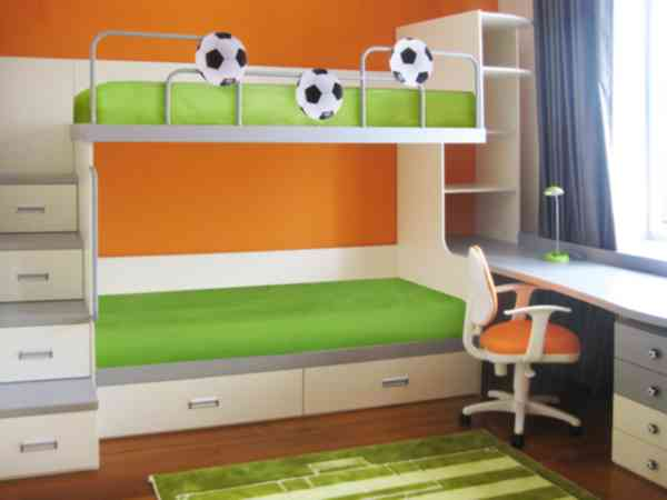 """Двухъярусная кровать """"Футболист"""""""