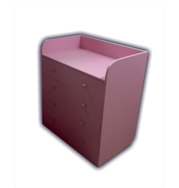 Комод для детской с четырьмя ящиками