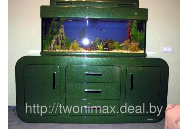 Комод зеленый под аквариаум