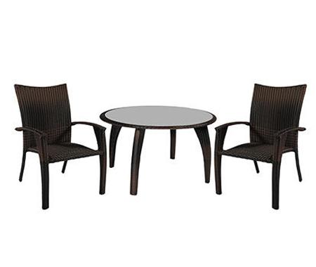 Комплект мебели из ротанга «Wicker»