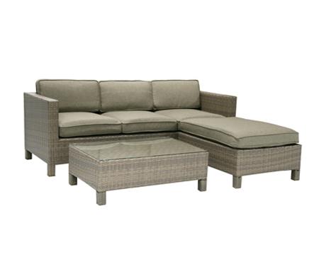 Комплект мебели «Queens» серый
