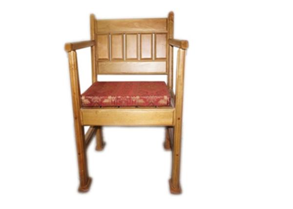 Кресло для отдыха из массива сосны «Гранада»