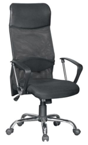 Кресло с тканью-сеткой и подвижной поясничной подушкой «Ультра»