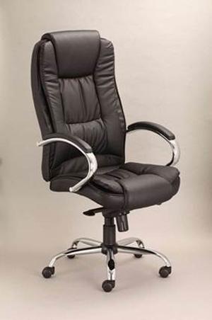 Кресло «Virginia» с хромированными металлическими элементами