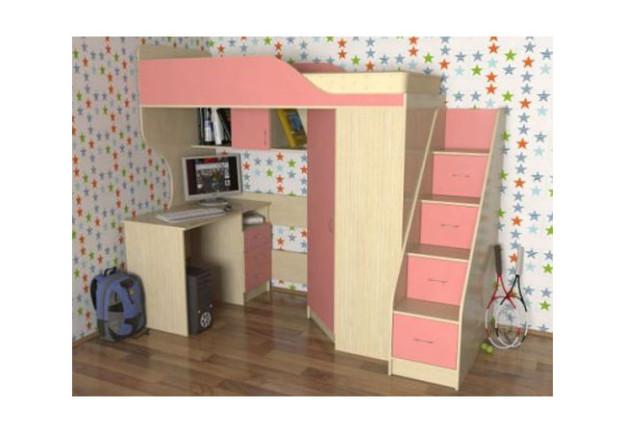 Кровать-чердак «Квартет-2»
