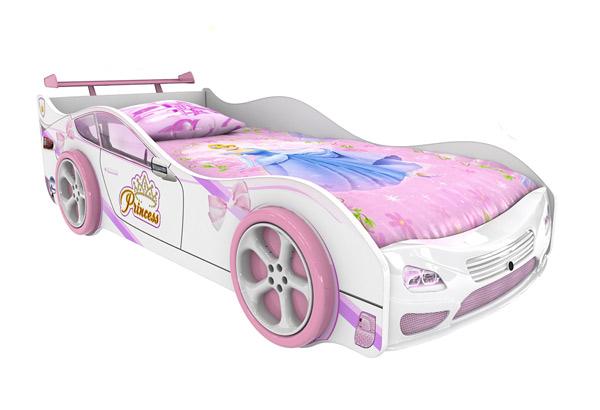 Кровать-машинка «Принцесса Престиж»
