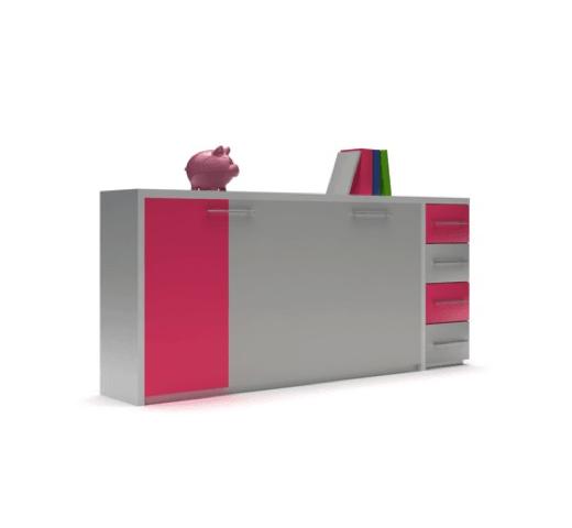 Кровать-трансформер с выдвижными ящиками