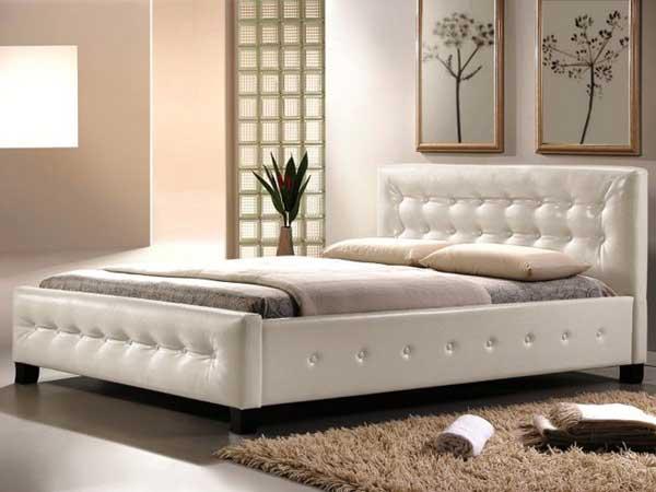 Кровать «Барселона» из эко-кожи