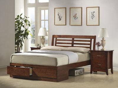 Кровать деревянная «Verso»