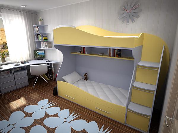 Кровать детская «Батерфляй»