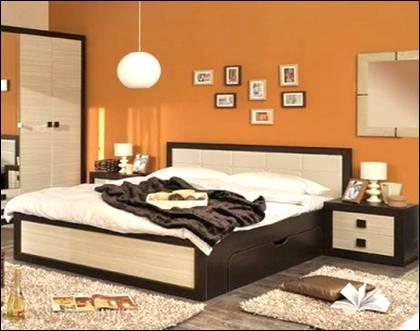 Кровать двухспальная современная