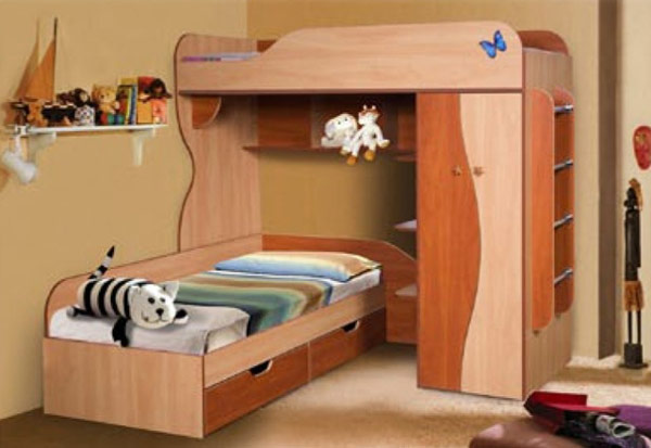 Кровать двухъярусная «02»