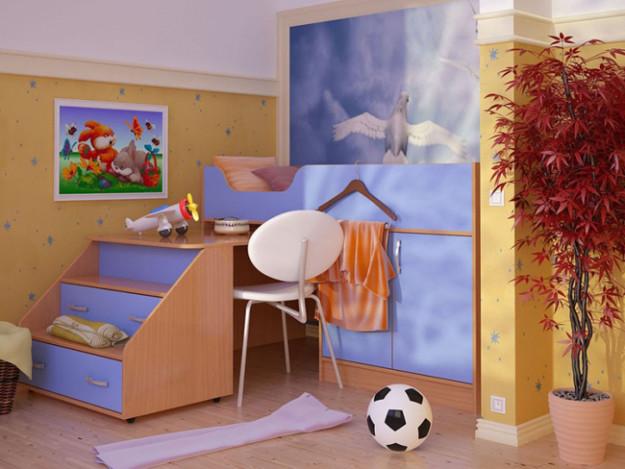 Кровать двухъярусная «Антошка-Микро»