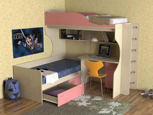Кровать двухъярусная «Дуэт 5»