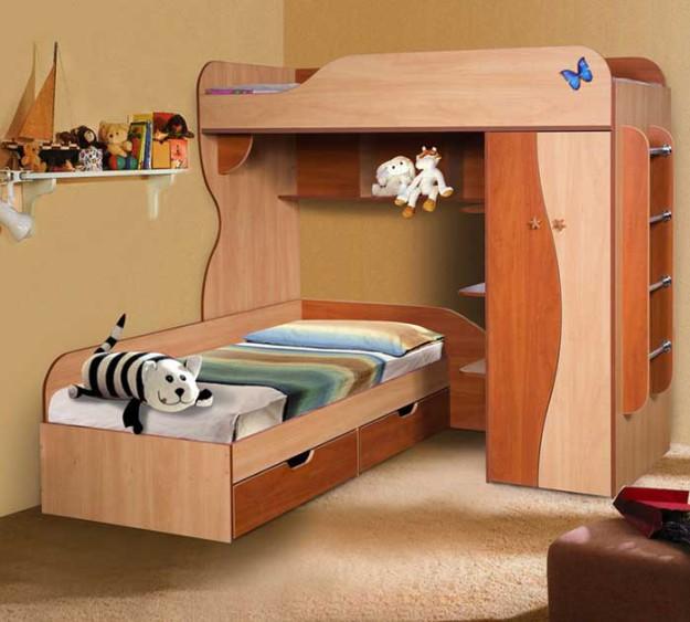 Кровать двухъярусная «КМК-02»