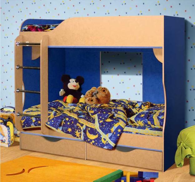 Кровать двухъярусная «КМК-03»