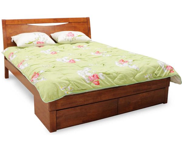 Кровать двуспальная «2300-A-FBD-WSR-BW»