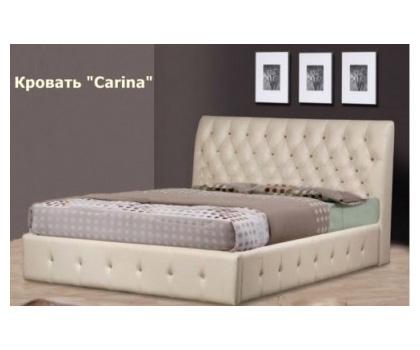 Кровать двуспальная из экокожи «Katrin»