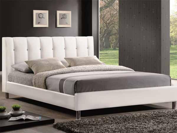 Кровать «Nadi» из эко-кожи