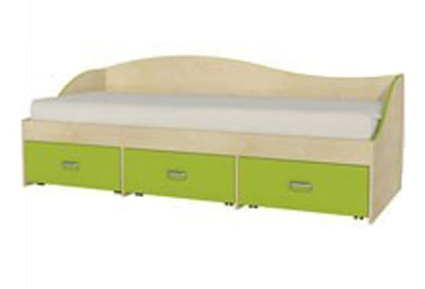 Кровать односпальная с выдвижными ящиками «MH-211-02»