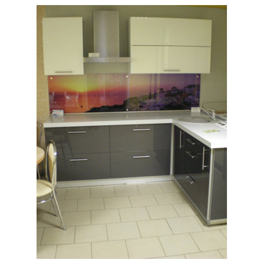 Кухня «Акрил» угловая