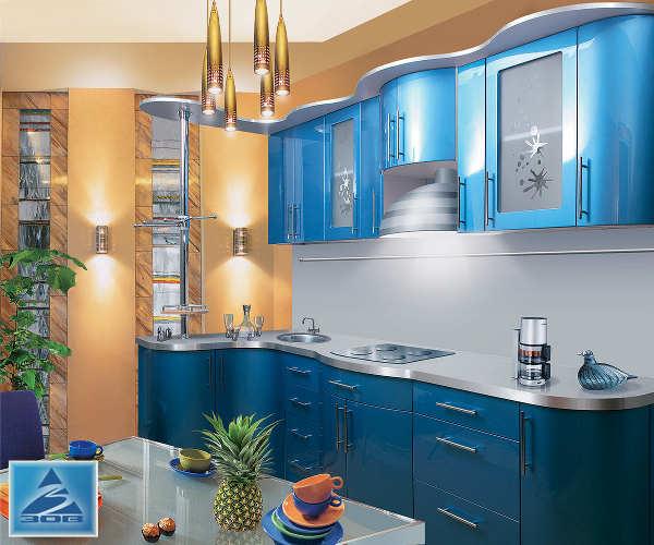 Кухня фасад система металлик М5