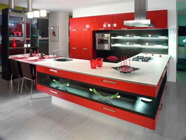 Кухня функциональная современная