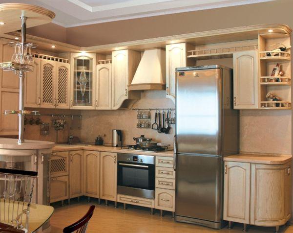 Кухня Г-образная