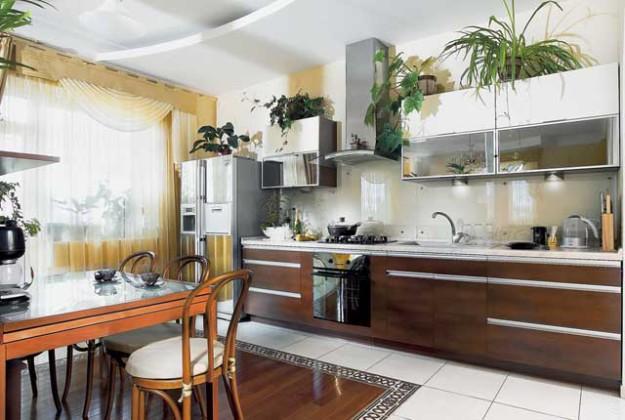 Кухня из ламинированной ДСП