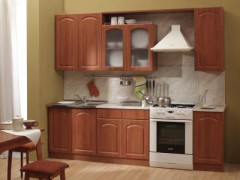 Кухня классическая в мягких тонах