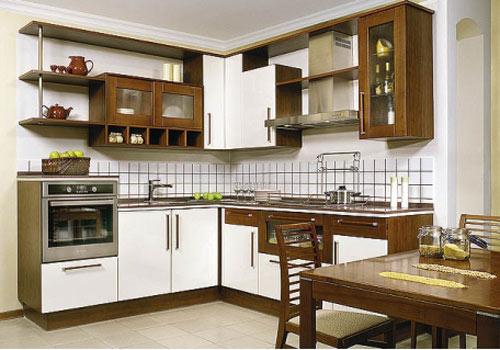 Кухня комбинированная классическая