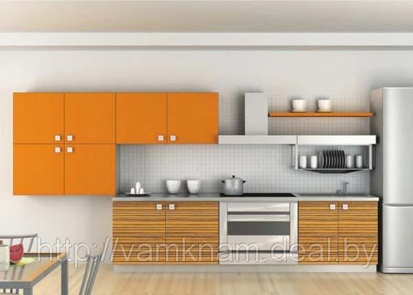 Кухня комбинированная в стиле минимализм